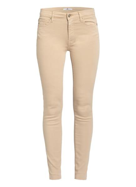 7 for all mankind Skinny Jeans SLIM ILLUSION , Farbe: SANDCASTLE COLOURED SLIM ILLUSION SD BEIGE (Bild 1)