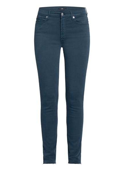7 for all mankind Skinny Jeans SLIM ILLUSION , Farbe: PEACOCK COLOURED SLIM ILLUSION PC BLUE (Bild 1)