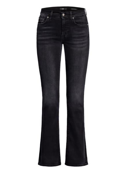 7 for all mankind Bootcut Jeans, Farbe: SOHO BLACK KH BLACK (Bild 1)