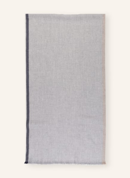 BRUNELLO CUCINELLI Schal, Farbe: GRAU/ BLAU (Bild 1)
