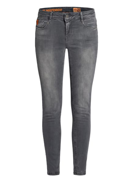 MIRACLE OF DENIM Skinny Jeans SINA, Farbe: 2929 Rhino Grey (Bild 1)