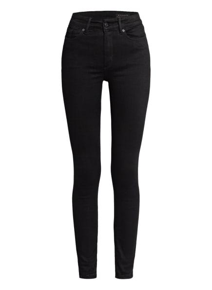 ALL SAINTS Skinny Jeans MILLER SIZE ME, Farbe: 5 BLACK (Bild 1)