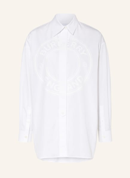 BURBERRY Oversized-Hemdbluse, Farbe: WEISS (Bild 1)