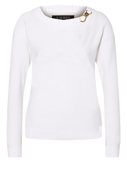LAUREN RALPH LAUREN Pullover , Farbe: WEISS (Bild 1)