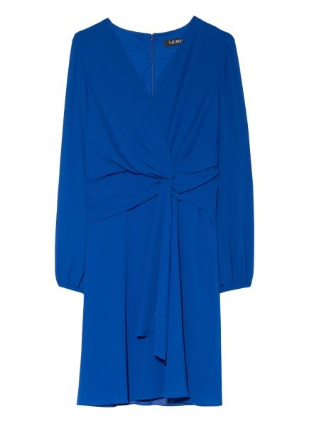 LAUREN RALPH LAUREN Kleid in Wickeloptik, Farbe: BLAU (Bild 1)