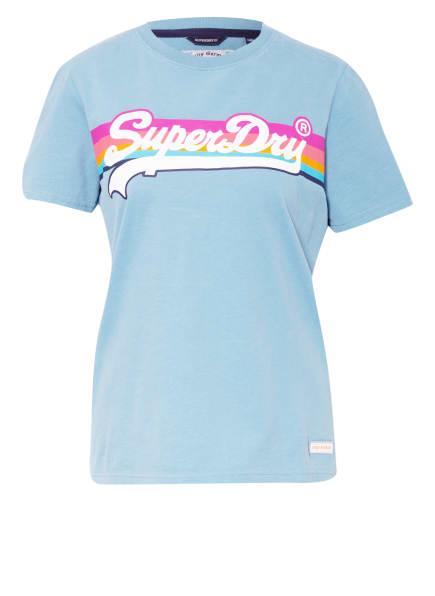 Superdry T-Shirt, Farbe: HELLBLAU (Bild 1)
