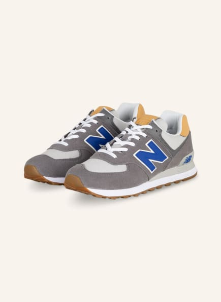 new balance Sneaker 574, Farbe: DUNKELGRAU/ BLAU (Bild 1)