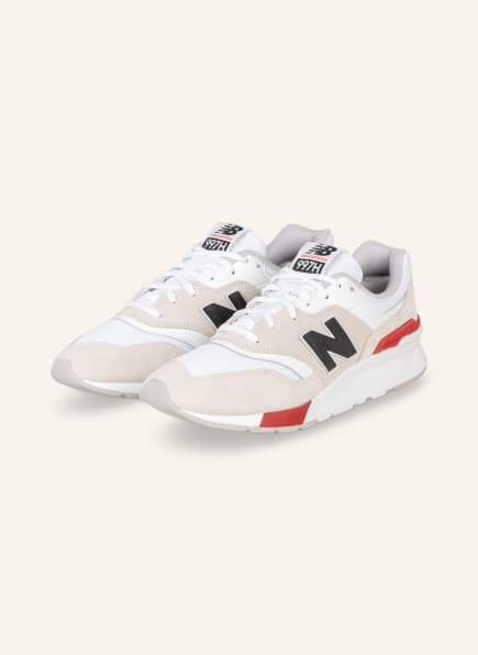 new balance Sneaker 997H, Farbe: BEIGE/ WEISS/ ROT (Bild 1)
