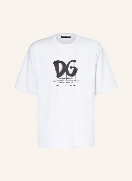 DOLCE&GABBANA T-Shirt , Farbe: CREME (Bild 1)