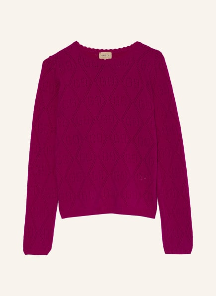 GUCCI Pullover, Farbe: FUCHSIA (Bild 1)