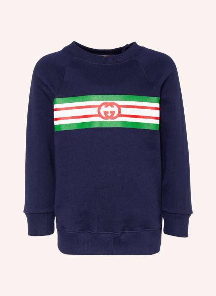 GUCCI Sweatshirt, Farbe: DUNKELBLAU (Bild 1)