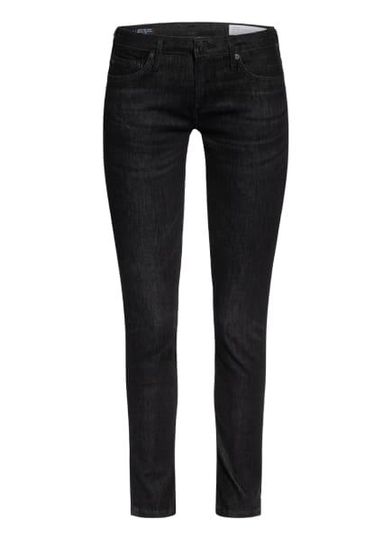 TRUE RELIGION Skinny Jeans CORA-HALLE, Farbe: 1001 black washed (Bild 1)