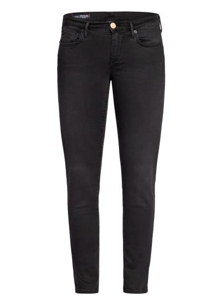 TRUE RELIGION Skinny Jeans HALLE, Farbe: 1001 LIGHT BLACK (Bild 1)