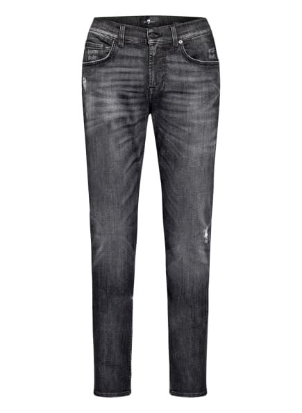 7 for all mankind Jeans SLIMMY Tapered Fit, Farbe: BLACK (Bild 1)
