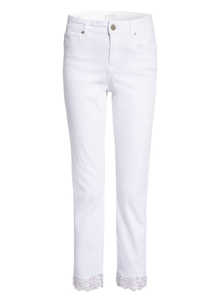 TED BAKER 7/8-Jeans LILLYA mit Nietenbesatz, Farbe: WHITE WHITE (Bild 1)