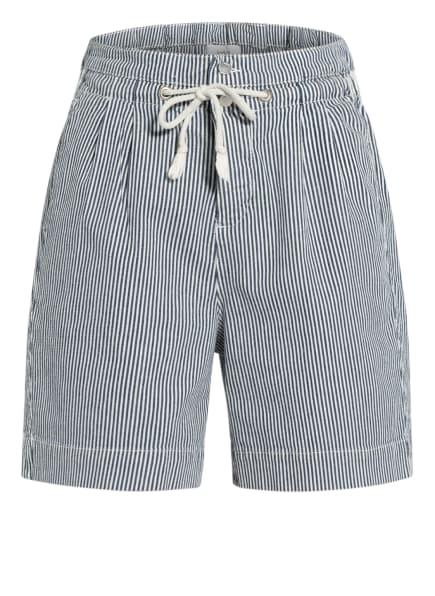 ba&sh Shorts OSIRIS, Farbe: DUNKELBLAU/ WEISS (Bild 1)
