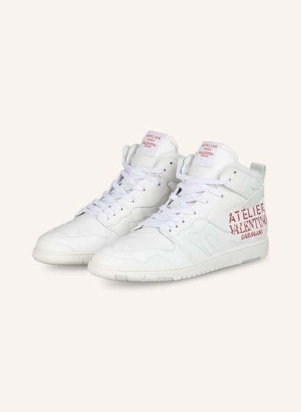 VALENTINO GARAVANI Hightop-Sneaker ATELIER, Farbe: WEISS (Bild 1)