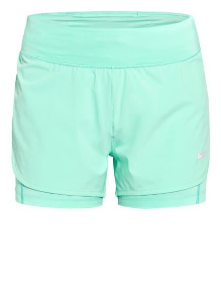 Nike 2-in-1-Laufshorts ECLIPSE, Farbe: MINT (Bild 1)