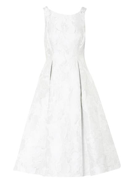 ADRIANNA PAPELL Jacquard-Kleid , Farbe: HELLGRAU (Bild 1)