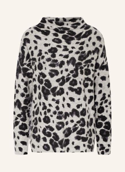 lilienfels Cashmere-Pullover, Farbe: GRAU/ SCHWARZ (Bild 1)
