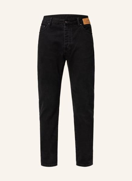 Palm Angels Jeans Regular Fit, Farbe: BLACK WHITE (Bild 1)