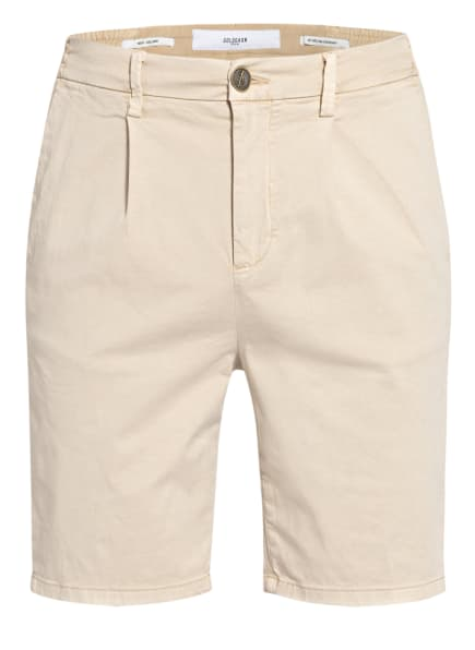 GOLDGARN DENIM Chino-Shorts HAFEN, Farbe: CREME (Bild 1)