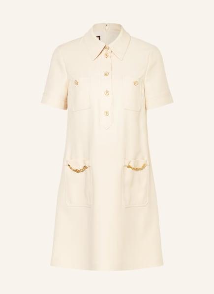 GUCCI Kleid mit Seide, Farbe: CREME (Bild 1)