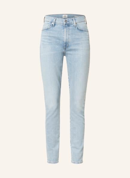 CITIZENS of HUMANITY Straight Jeans OLIVIA, Farbe: LA LUNE PALE INDIGO (Bild 1)