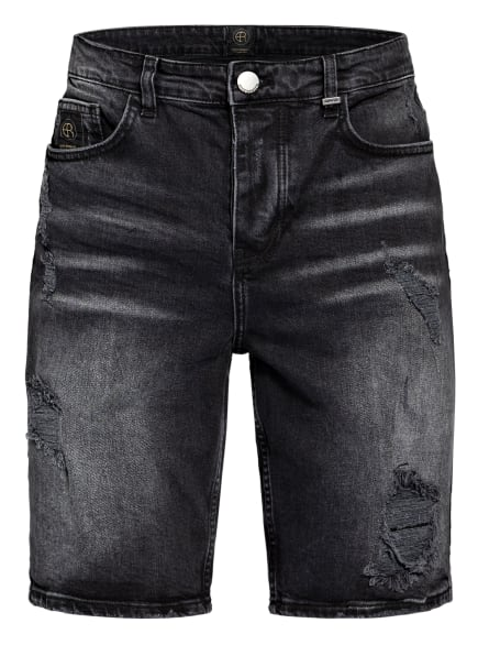 ER ELIAS RUMELIS Jeans-Shorts ER FLORIAN, Farbe: 0449 broken black (Bild 1)