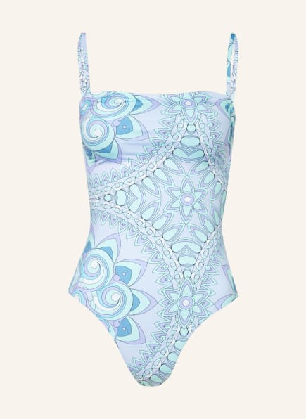 VILEBREQUIN Badeanzug MANDALA FACETTE, Farbe: MINT/ PETROL/ HELLLILA (Bild 1)