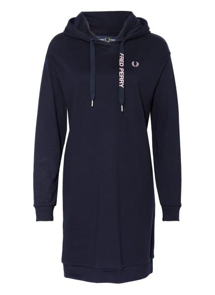 FRED PERRY Hoodie-Kleid , Farbe: DUNKELBLAU (Bild 1)