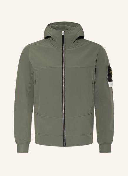 STONE ISLAND Softshell-Jacke, Farbe: OLIV (Bild 1)