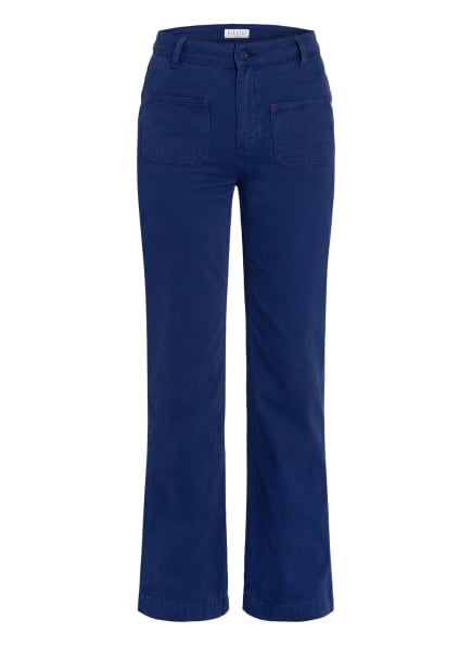 CLAUDIE PIERLOT Flared Jeans PIPA , Farbe: 1736 CHINESE BLUE (Bild 1)