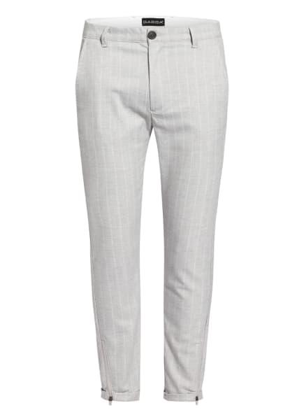 GABBA Chino PISA Regular Fit, Farbe: HELLGRAU/ WEISS (Bild 1)