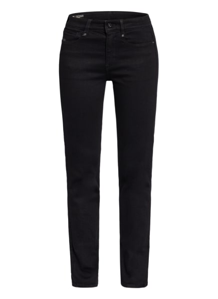 G-Star RAW Straight Jeans NOXER, Farbe: A810 Pitch Black (Bild 1)