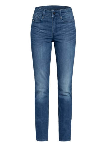 G-Star RAW Straight Jeans NOXER, Farbe: C571 faded neptune blue (Bild 1)