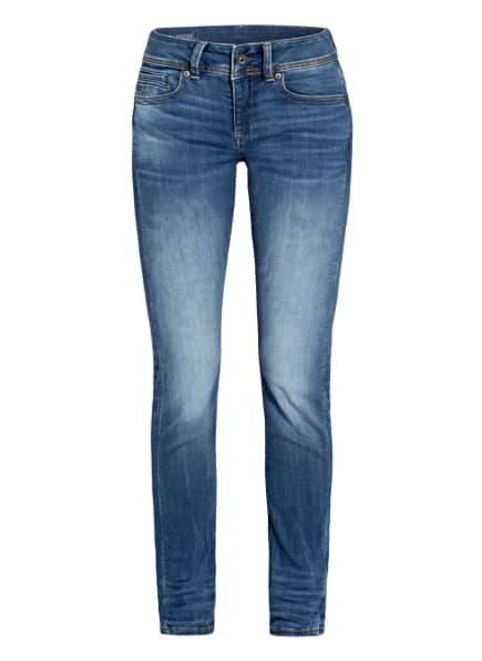 G-Star RAW Straight Jeans MIDGE SADDLE, Farbe: 6028 MEDIUM INDIGO AGED (Bild 1)