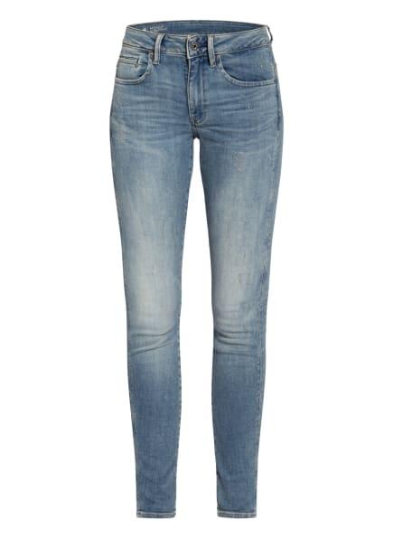 G-Star RAW Skinny Jeans MIDGE ZIP MID, Farbe: 9114 lt vintage aged destroy (Bild 1)