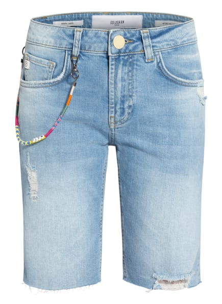 GOLDGARN DENIM Jeans-Shorts AUGUSTA, Farbe: 1070 light blue (Bild 1)