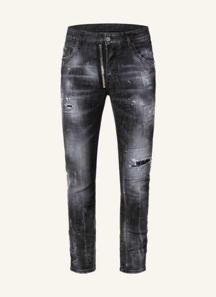 DSQUARED2 Destroyed Jeans SKATER Extra Slim Fit, Farbe: 900 BLACK (Bild 1)