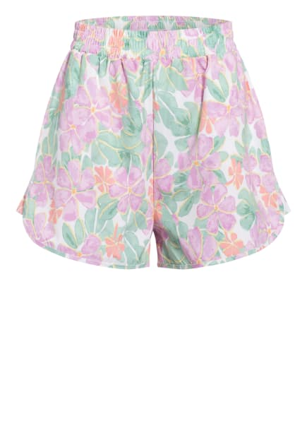 NA-KD Shorts, Farbe: HELLLILA/ HELLGRÜN/ WEISS (Bild 1)