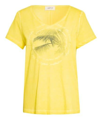 CARTOON T-Shirt, Farbe: GELB (Bild 1)
