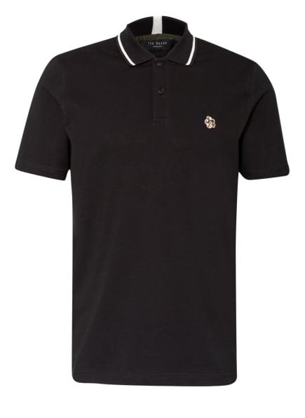 TED BAKER Piqué-Poloshirt, Farbe: SCHWARZ (Bild 1)