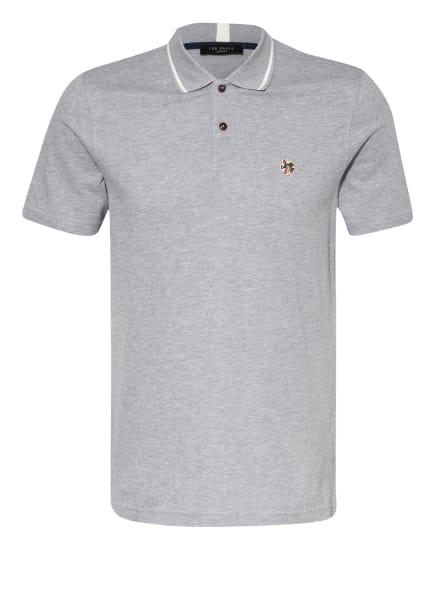 TED BAKER Piqué-Poloshirt, Farbe: HELLGRAU (Bild 1)