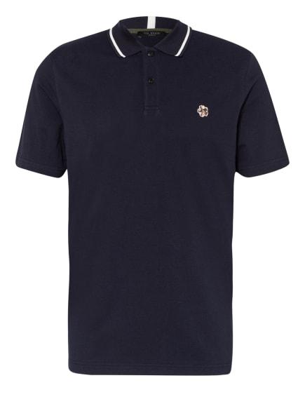 TED BAKER Piqué-Poloshirt, Farbe: DUNKELBLAU (Bild 1)