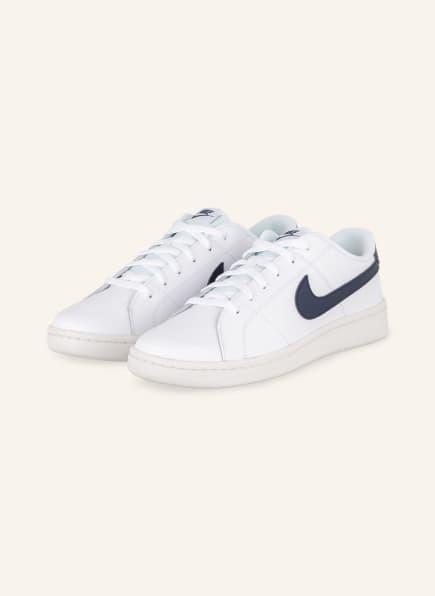 Nike Sneaker COURT ROYALE 2, Farbe: WEISS/ DUNKELBLAU (Bild 1)