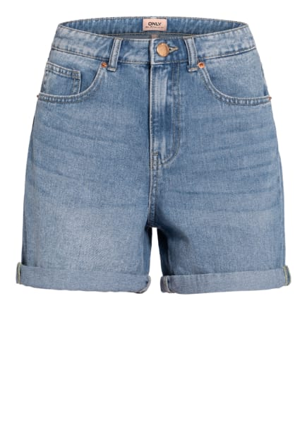 ONLY Jeans-Shorts , Farbe: LIGHT BLUE DENIM (Bild 1)