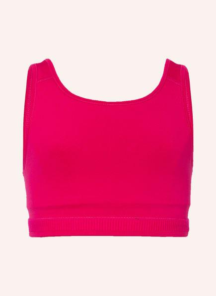 Nike Sport-BH NIKE SWOOSH LUXE , Farbe: FUCHSIA (Bild 1)