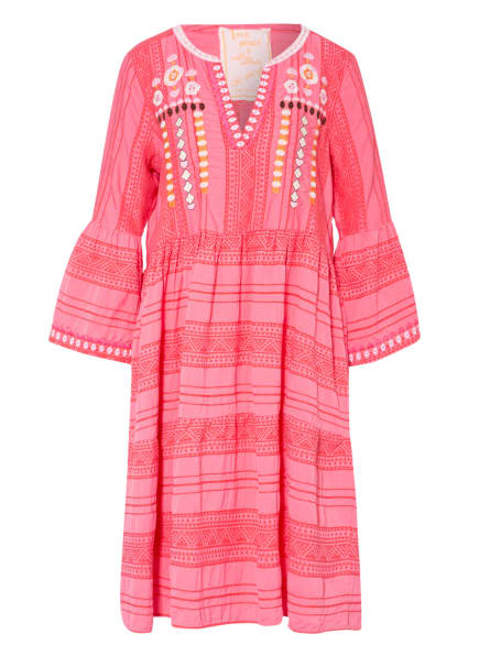 LIEBLINGSSTÜCK Kleid JOLA mit 3/4-Arm, Farbe: PINK/ ORANGE/ ECRU (Bild 1)