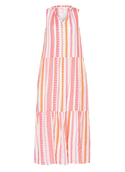 LIEBLINGSSTÜCK Kleid ESSIE mit Stickereien, Farbe: PINK/ WEISS/ ORANGE (Bild 1)